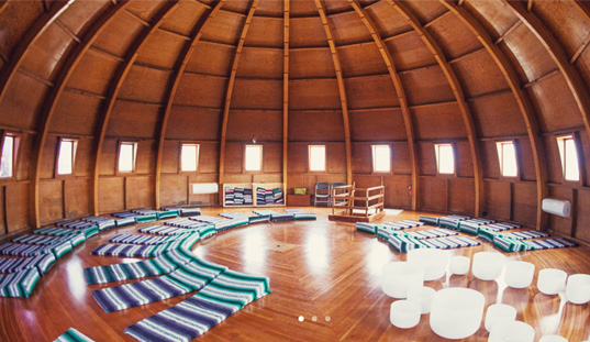 big dome shaped room
