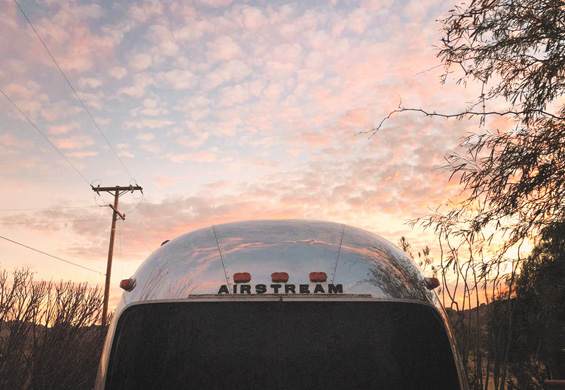 Big Mama Airstream exterior