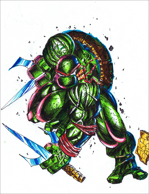 Raphael TMNT Cartoon