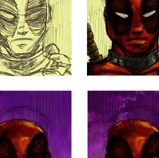 Deadpool Post-It