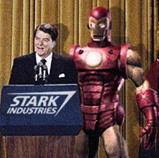 Ronald Reagan meets Iron Man