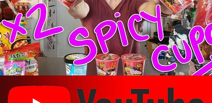 EATING 4 CUPS OF SAMYANG 2X SPICY INSTANT NOODLES