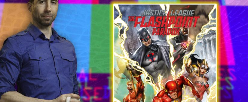 #302 Justice League Flashpoint Paradox