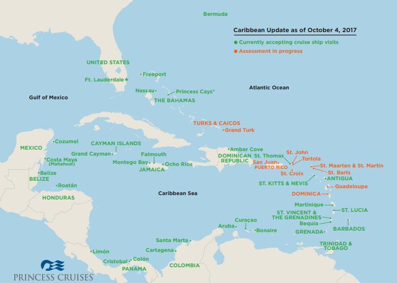 princess-cruises-CA Assessment Map