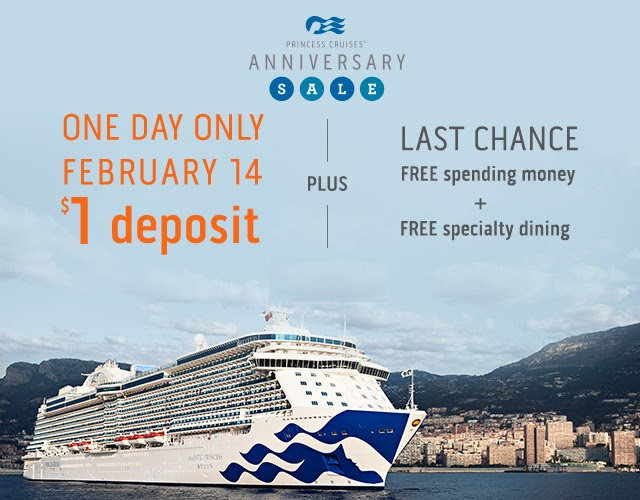 Princess Cruises News 2/7/18