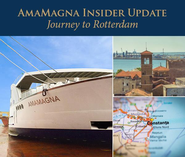 AmaMagna Insider Update: Journey to Rotterdam