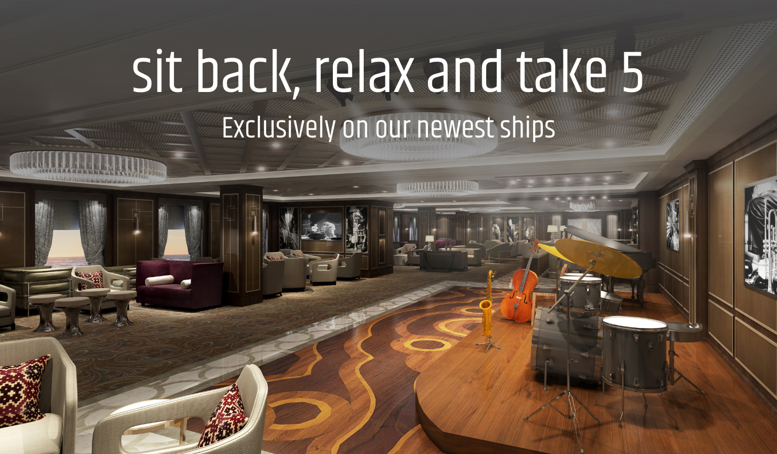 Sit back, Relax and Take 5 on Princess Cruises newest ships!
