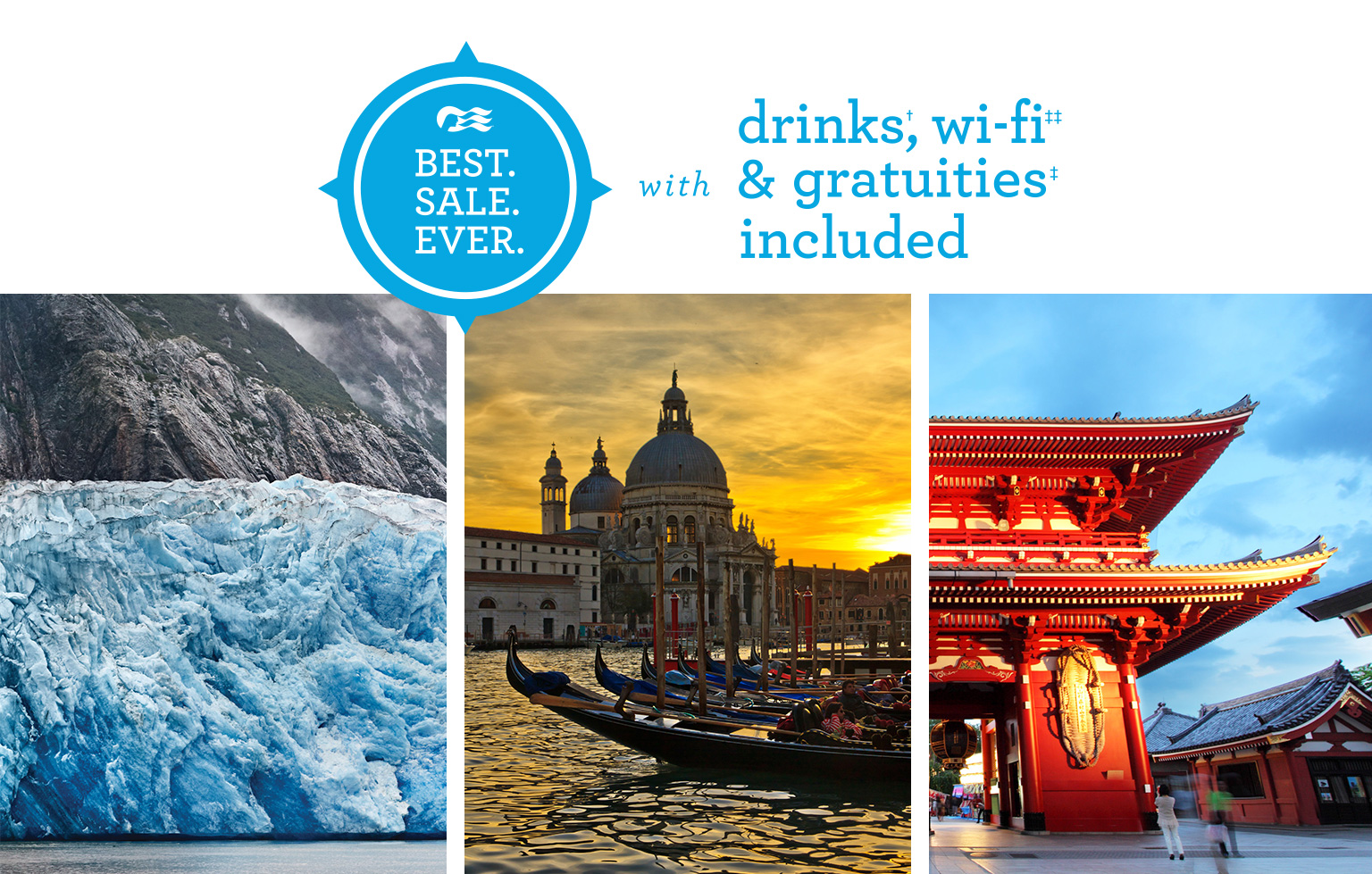 New Alaska & Europe vacations on sale now!