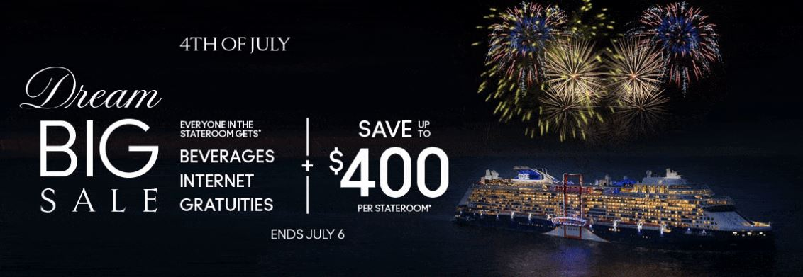 Six Days, Three Perks, One Incredible Offer from Celebrity Cruises