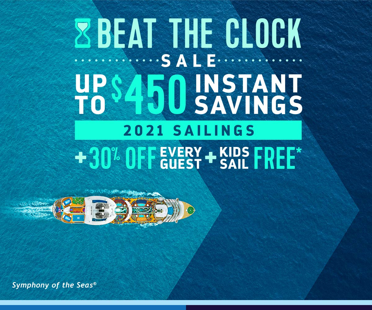 Beat The Clock with Royal Caribbean!