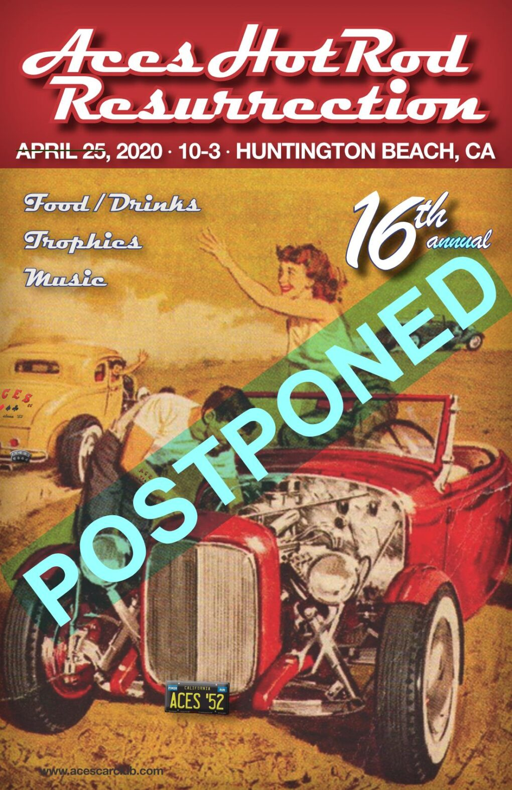 Postponed ACES Car Show
