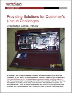 Cover Snapshot of Red Drawbridge Control Panel
