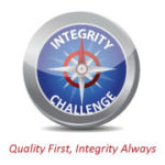 Integrity Challenge Compass, Quality First, Integrity Always