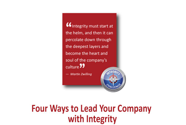"""""""Integrity must start at the helm,..."""" ― Martin"""