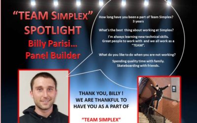 Team Simplex Billy Parisi