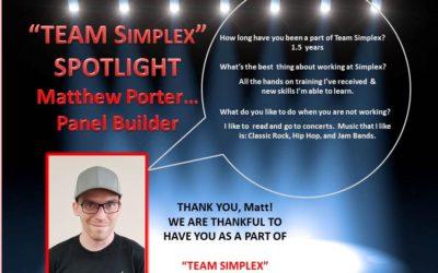 Matt Porter Team Simplex