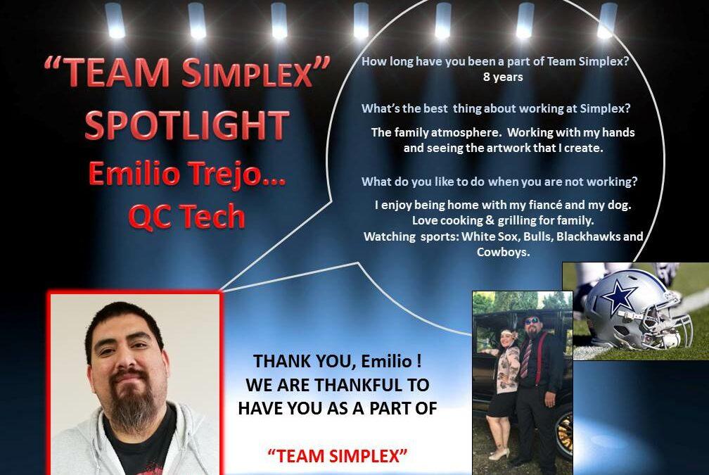 Recognition for Emilio Trejo