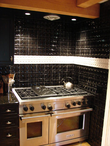 J Kaufman Kitchen Stove