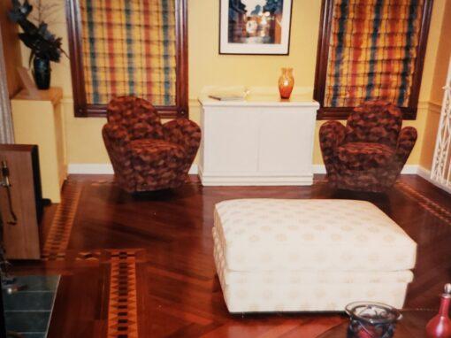 Dan and Marushka Living Room