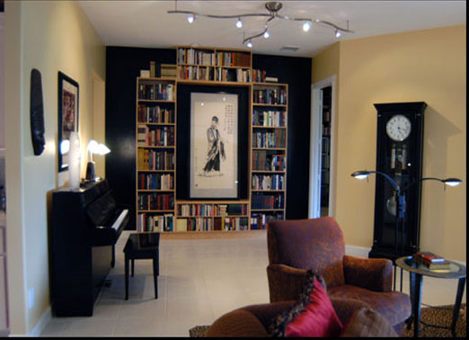 Dockery Living Room Bookcase
