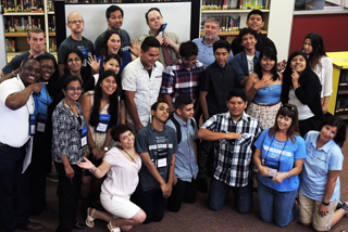 5 Saturdays program 2015 launched at Estancia High School in Costa Mesa, California.
