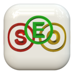 SEO icon for polished, first class Search Engine Optimization