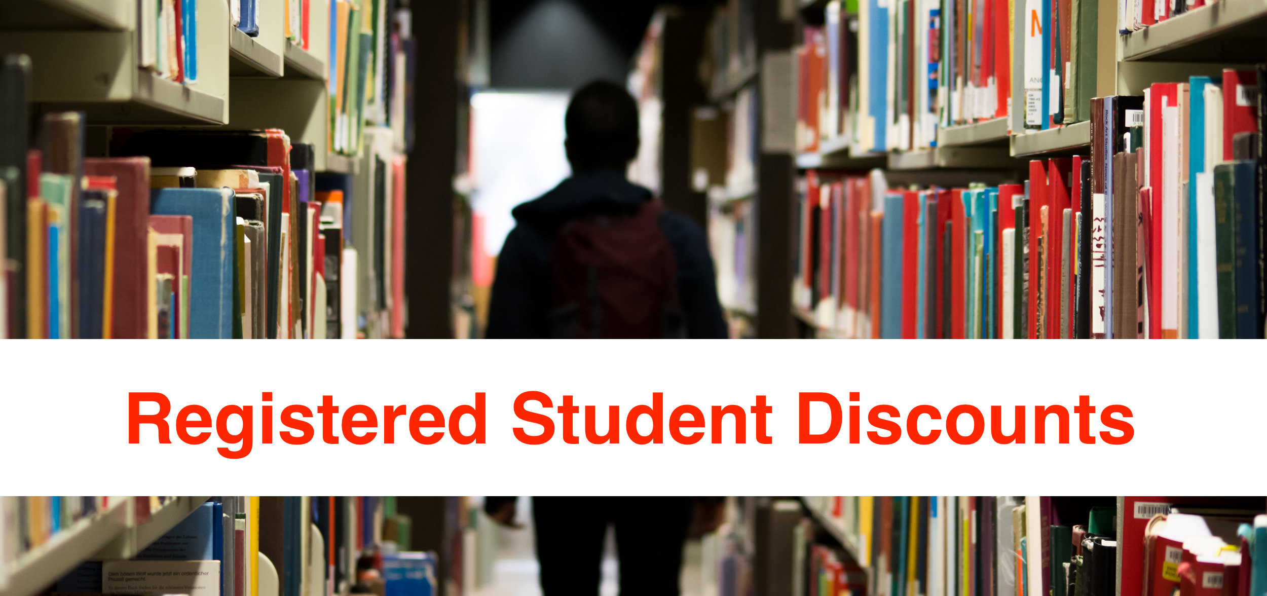 Registered Students Discount Program