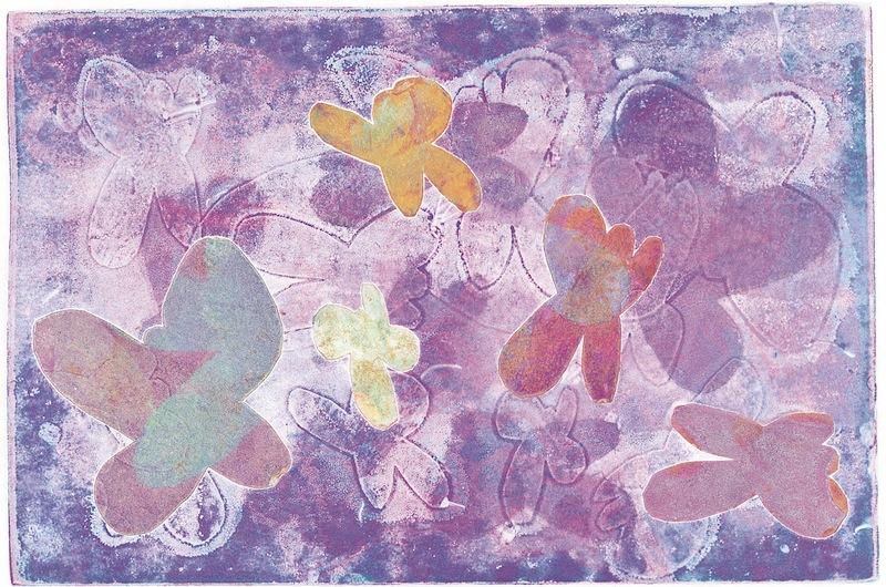 Purple Butterflies by Grace Culliton