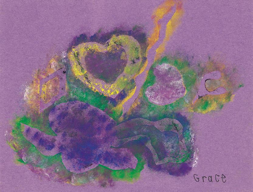 Purple Heart by Grace Culliton