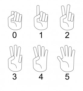 vector-hand-language
