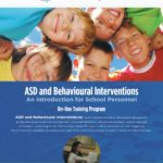 ASD and Behavioural Interventions
