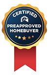 Certificate Preapproved homebuyer ribbon