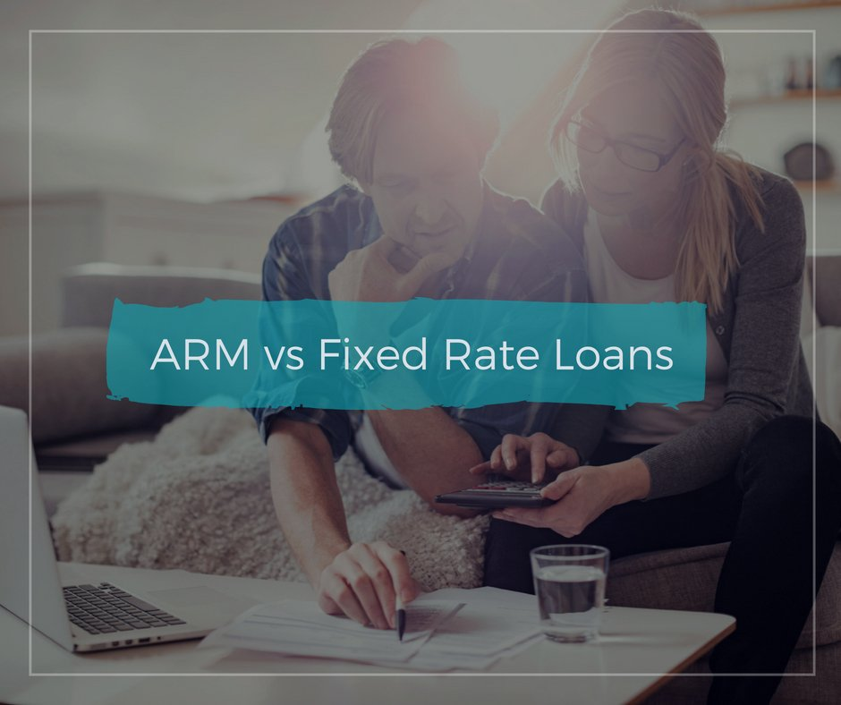 ARM vs Fixed Rate Loans - USA Mortgage