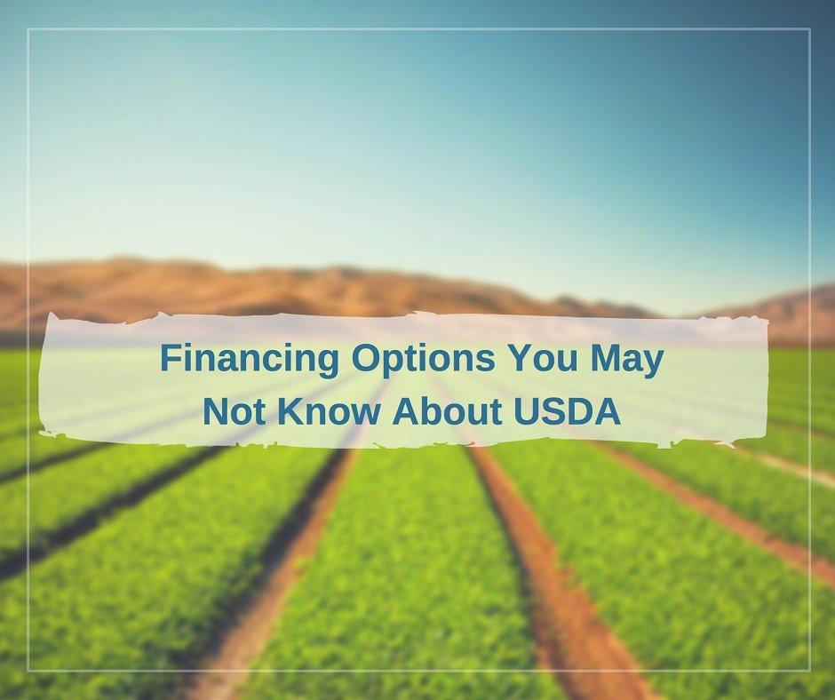 USDA Loan changes and options - USA Mortgage