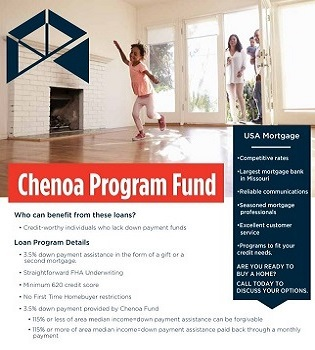 Chenoa Program Brochure | USA Mortgage - Columbia, Missouri