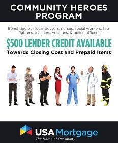 Heroes Mortgage Program Brochure - Columbia, MO