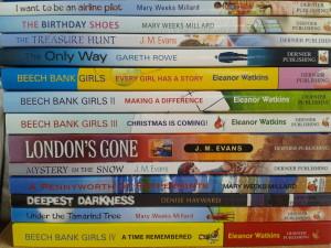 Dernier Publishing book pile