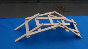 clever wooden sculpture