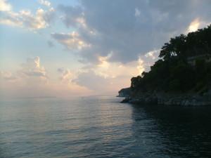 Sea and land