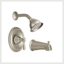 MOEN Kingsley Brushed Nickel Trim
