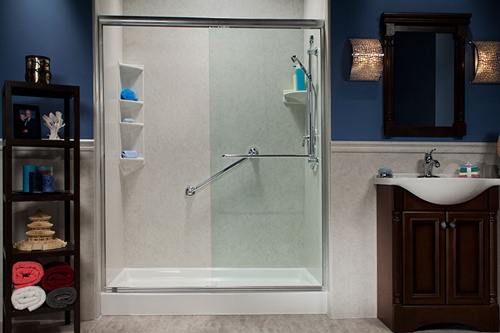 Tub-to-Shower Conversions
