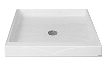 Square Commercial Shower Base
