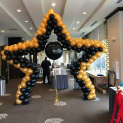 Star, Heart , Mickey or Minnie Balloon Arches