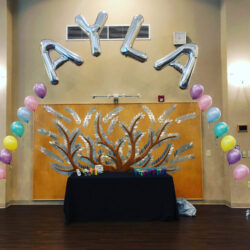 String of Pearls Balloon Arch