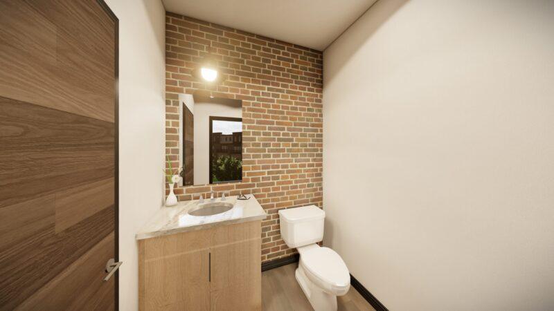 bathroom Kingsbury Village Apartments Sheboygan