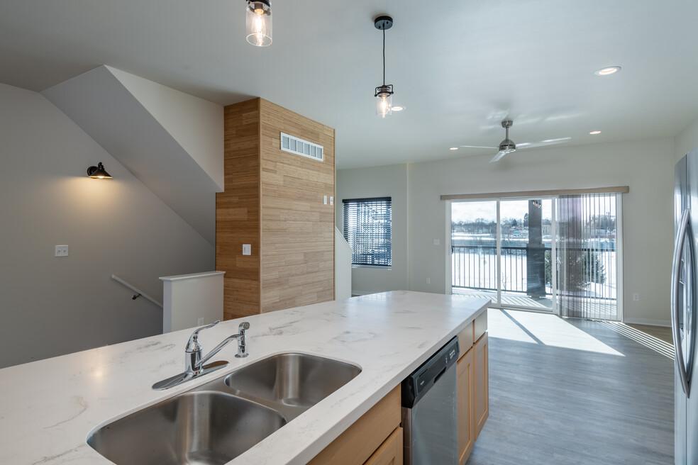 Kitchen to Livingroom Kingsbury Village
