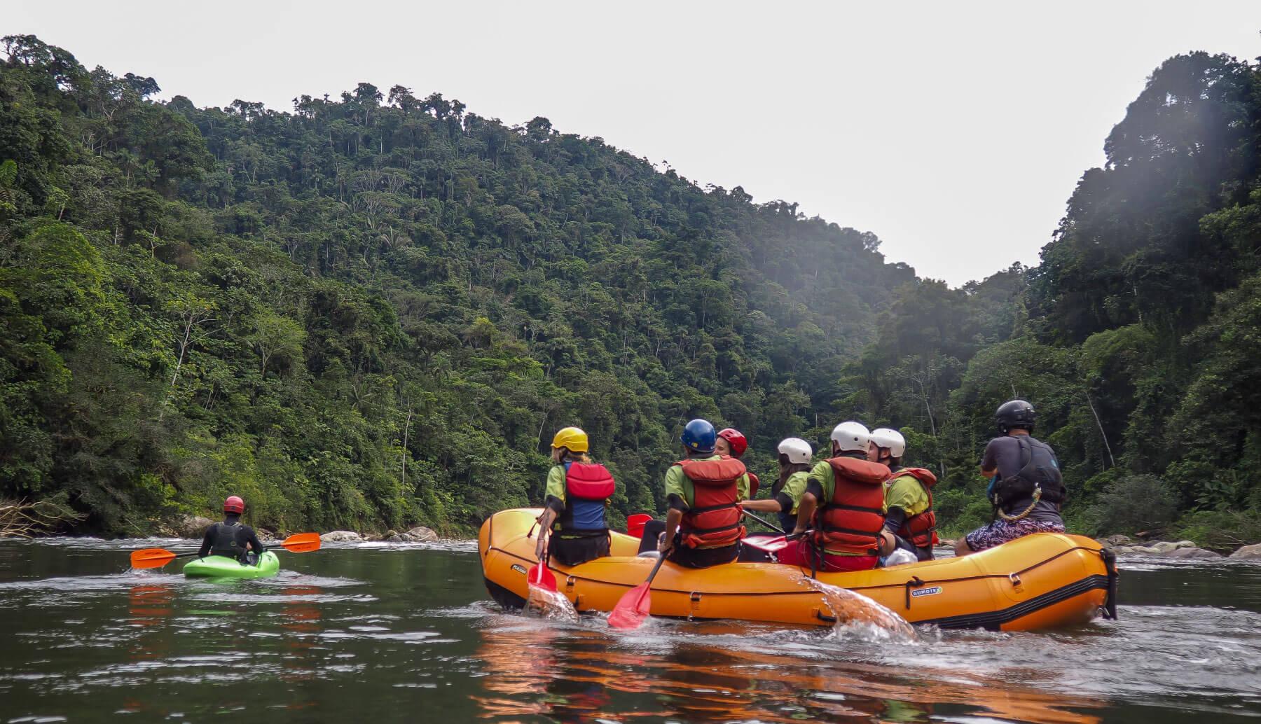 Jondachi & Hollin Rafting Trip