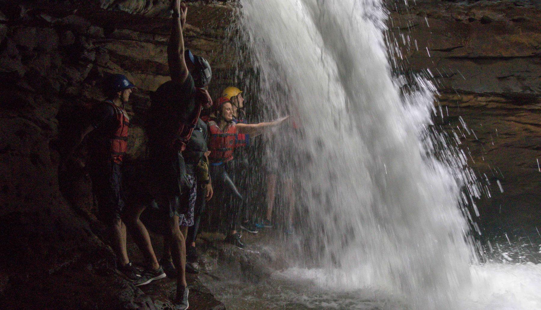 Waterfall of Gran Cañon