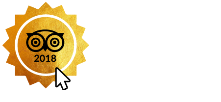 2018 certificate of Excellence, Tripadvisor