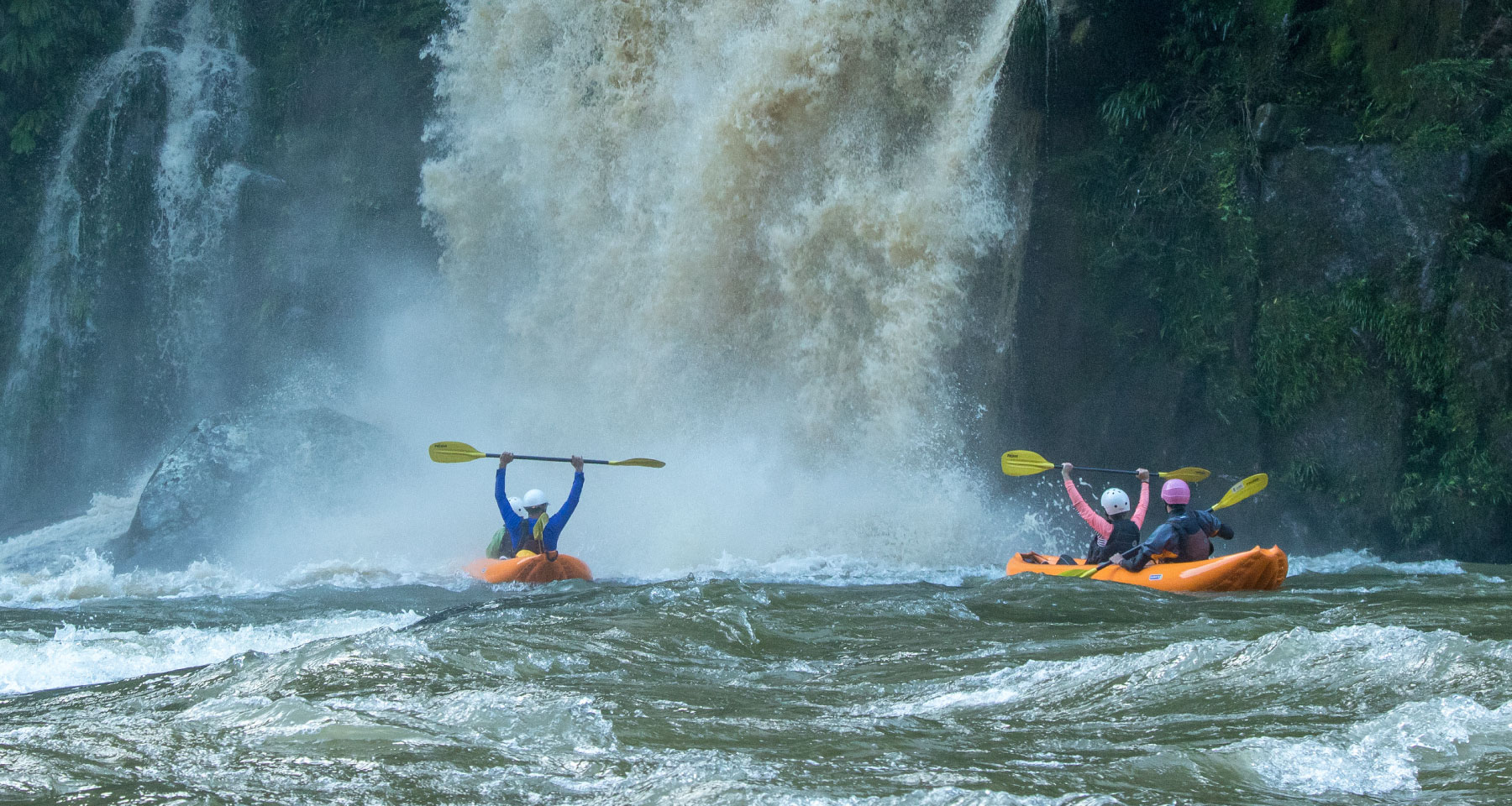 Big waterfall in Jondachi River